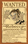 Rebecca Wanted Poster