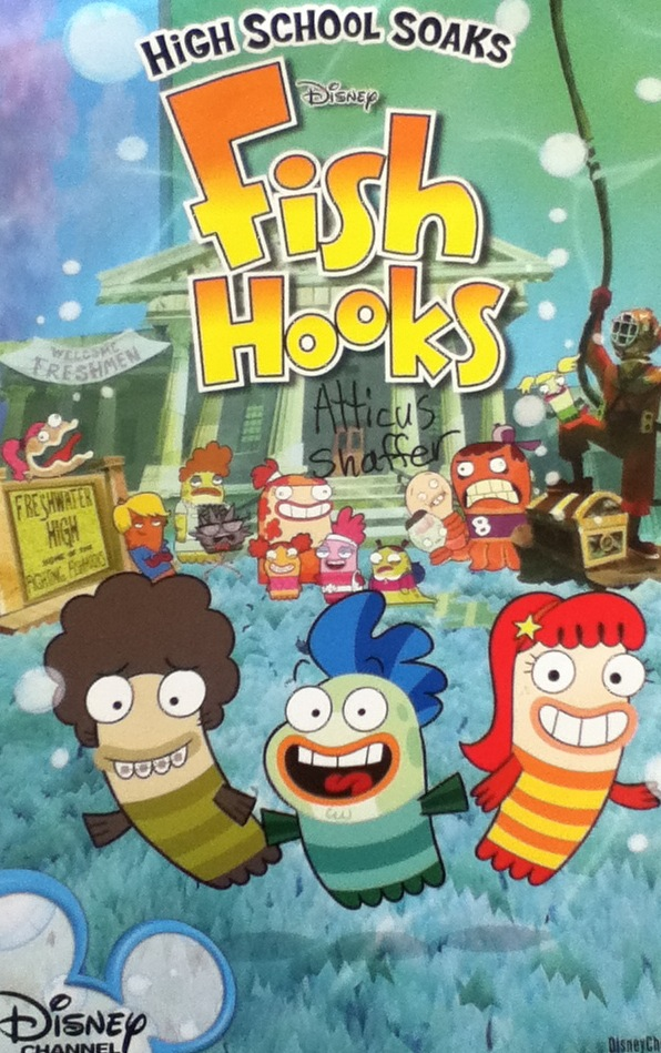 Fish hooks poster by chrismilesprower on deviantart for Where can i buy fish
