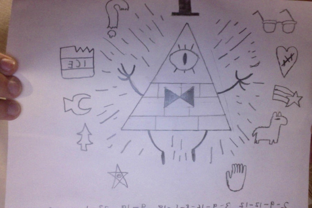 Bill Cipher by Chrismilesprower