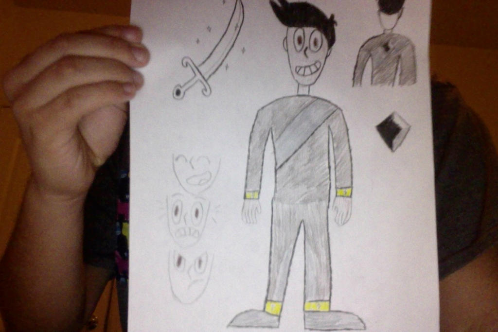 Steven Universe OC: Onyx by Chrismilesprower