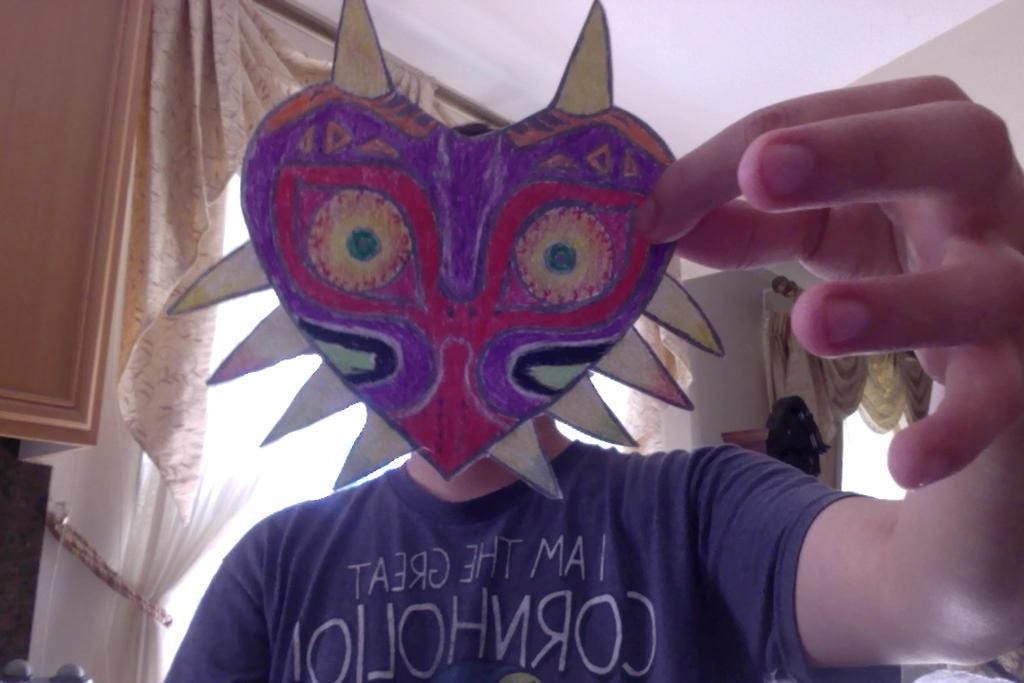 Majora's Mask by Chrismilesprower
