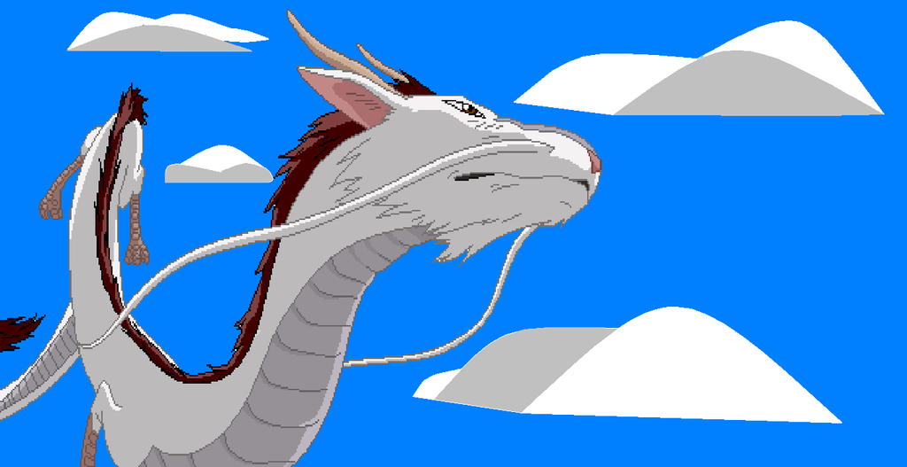 Spirited Away Dragon OC by Chrismilesprower