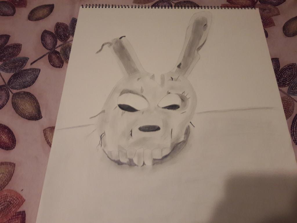 Springtrap Mask Sketch by Chrismilesprower