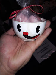 Cuphead Tea Cup by Chrismilesprower