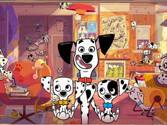 101 Dalmatian Street Disney Reboot by Chrismilesprower