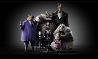 The Addams Family Movie (2019) by Chrismilesprower