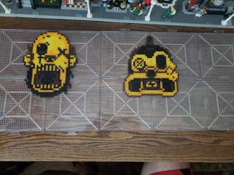The Butcher Gang Perler Beads by Chrismilesprower