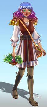 OC Azalea the Herbalist