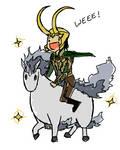 Loki and his Pokemon