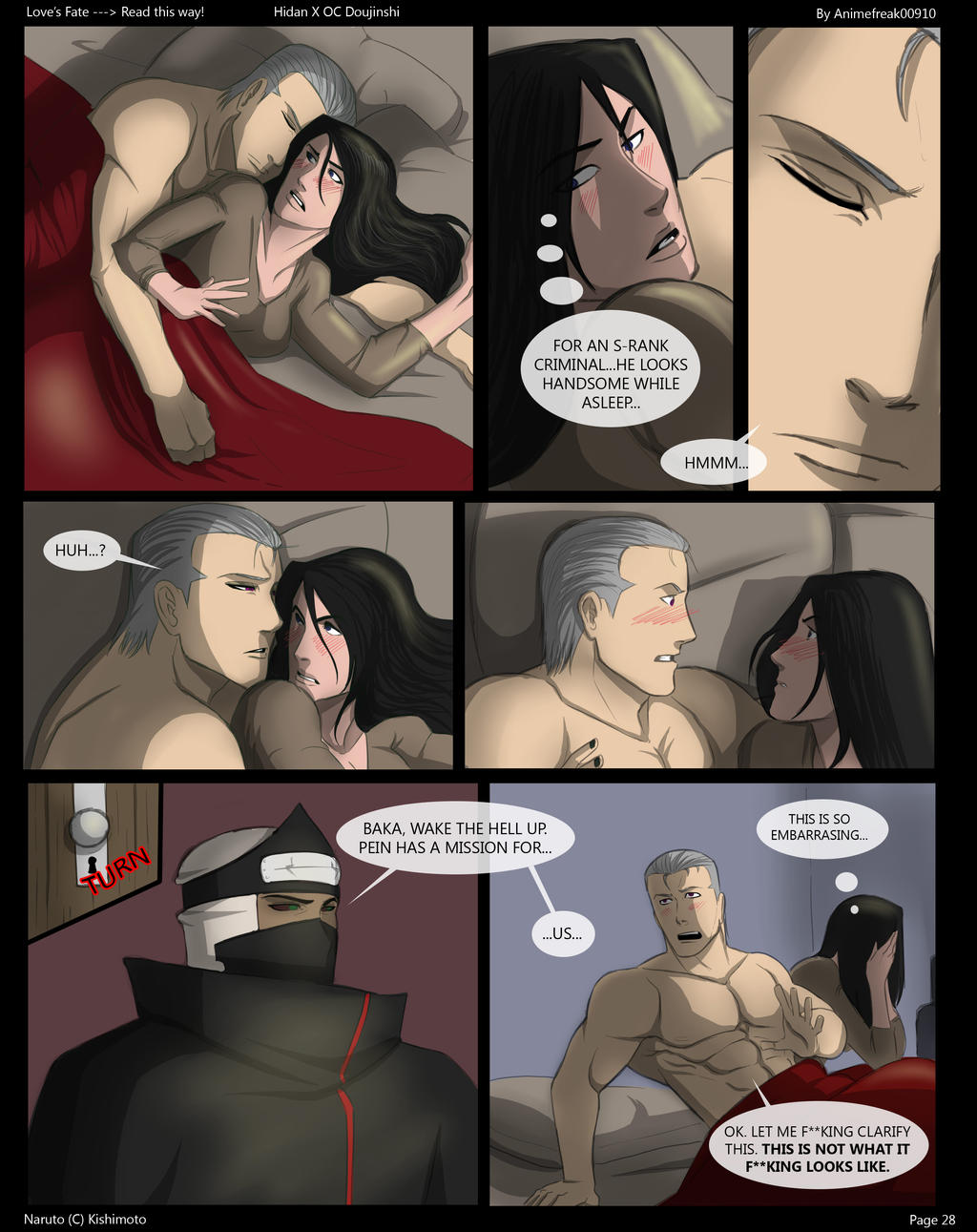Love's Fate Hidan Pg 28 by S-Kinnaly