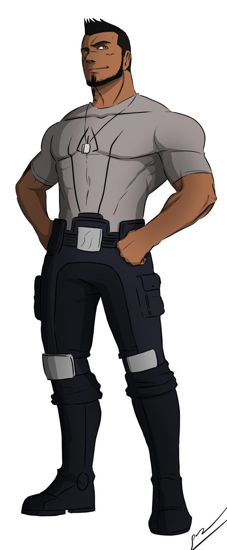 James Vega with shirt by AnimeFreak00910