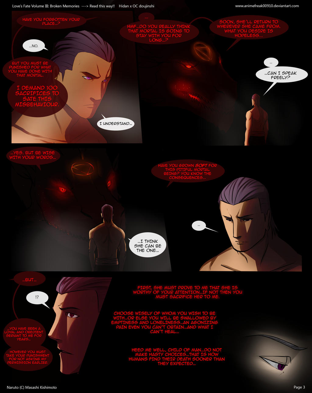 Love's Fate Hidan V3 Pg 3 by S-Kinnaly
