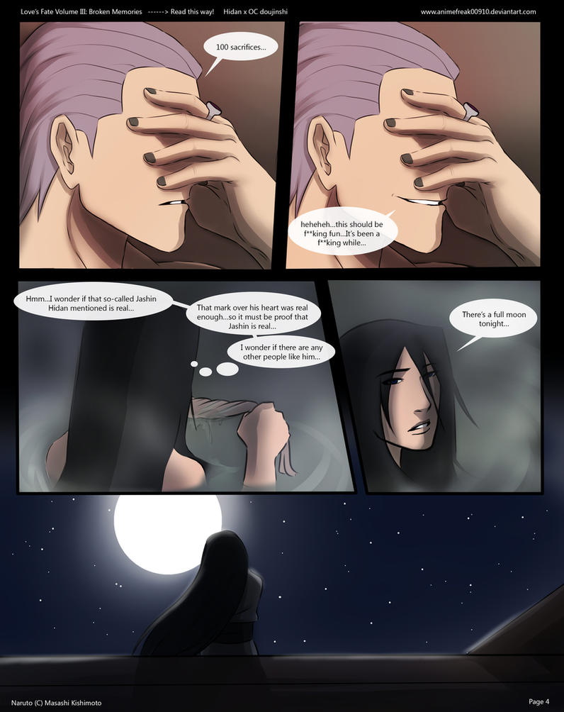 Love's Fate Hidan V3 Pg 4 by AnimeFreak00910