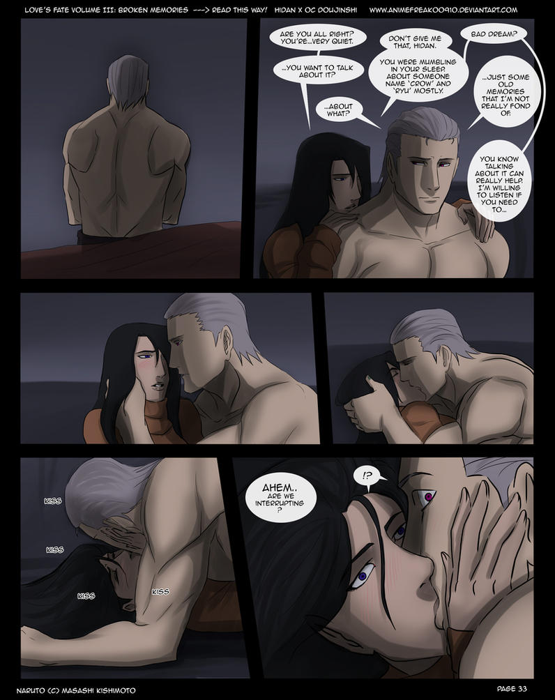 Love's Fate Hidan V3 Pg 33 by S-Kinnaly