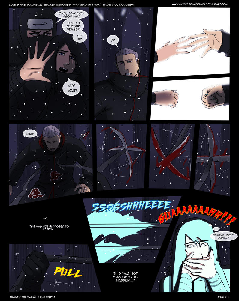 Love's Fate Hidan V3 Pg 39 by AnimeFreak00910