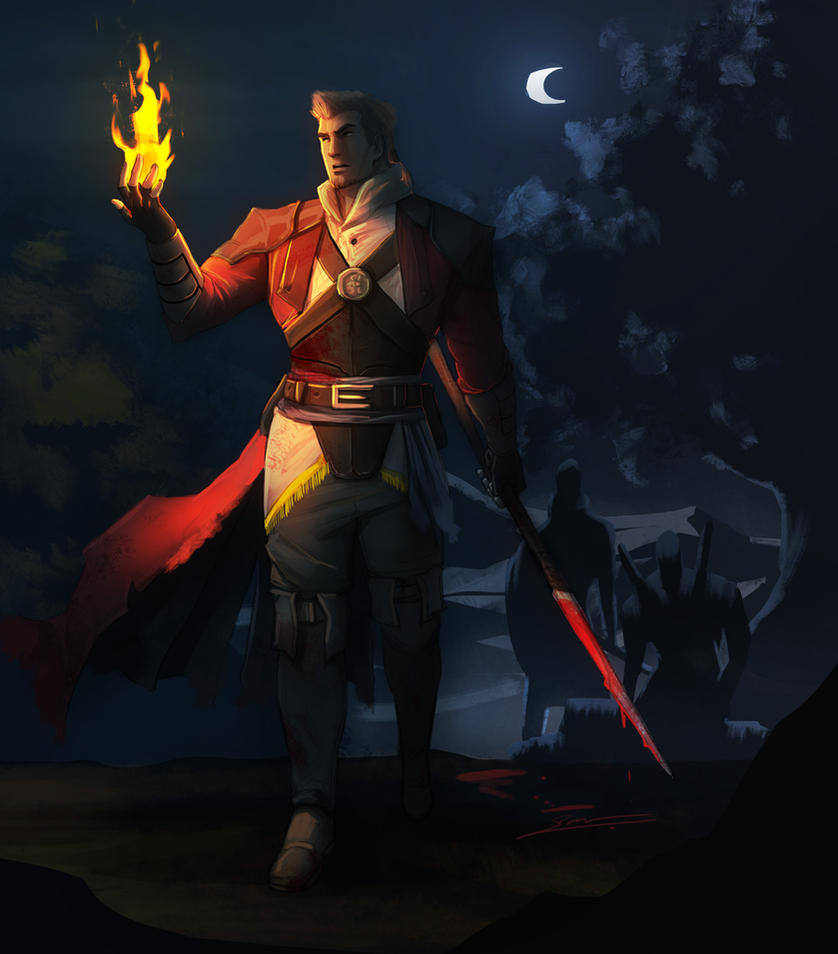 Dragon Age Inquisitor by AnimeFreak00910