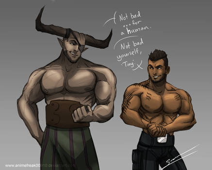 Ironbull And James Vega
