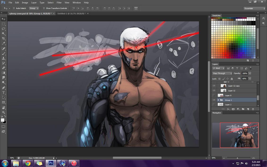 The Prisoner progress by AnimeFreak00910
