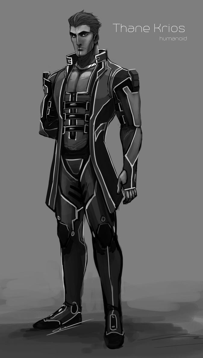 Thane Krios Human by S-Kinnaly