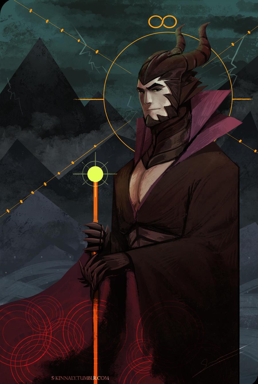 Maleficent Tarot Card By S-Kinnaly On DeviantArt