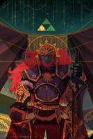 Ganondorf Tarot Card by S-Kinnaly