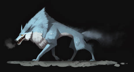 Wolf Spirit by S-Kinnaly