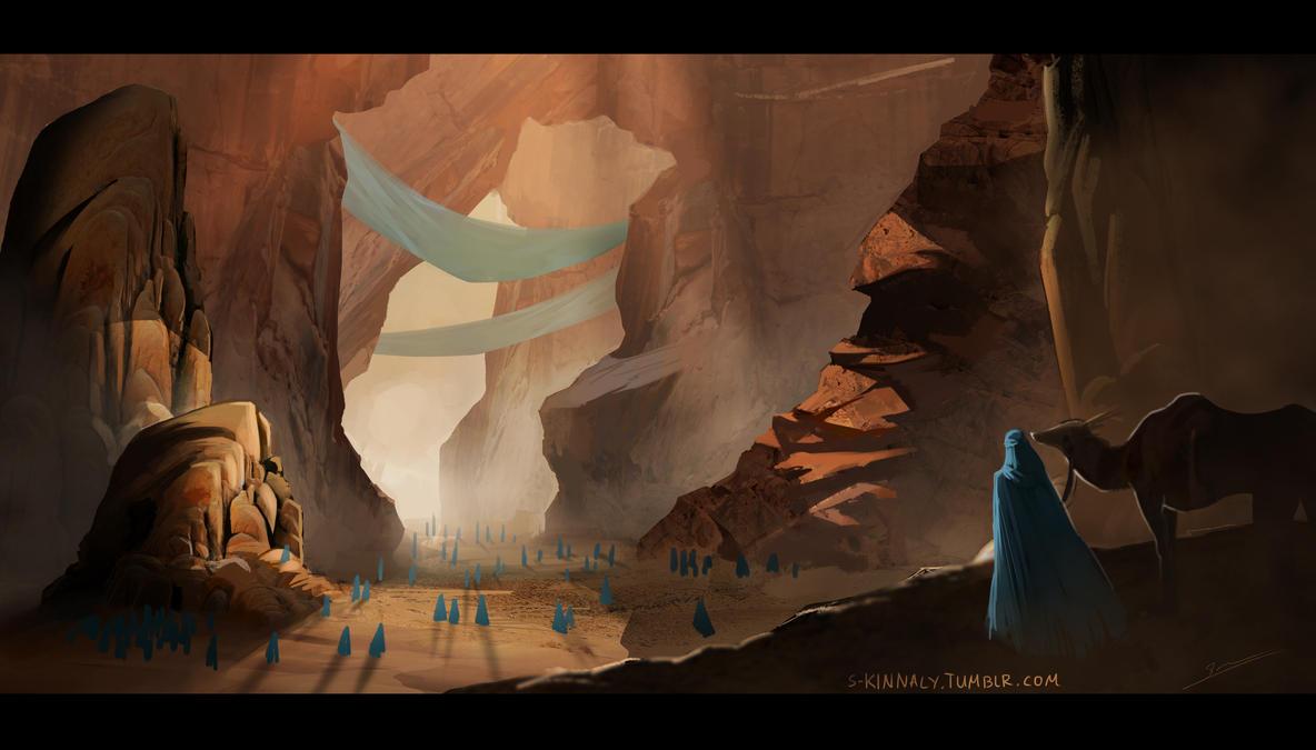 Desert Entrance by S-Kinnaly