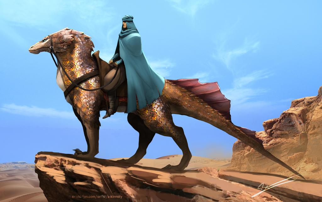 Desert Rider by S-Kinnaly