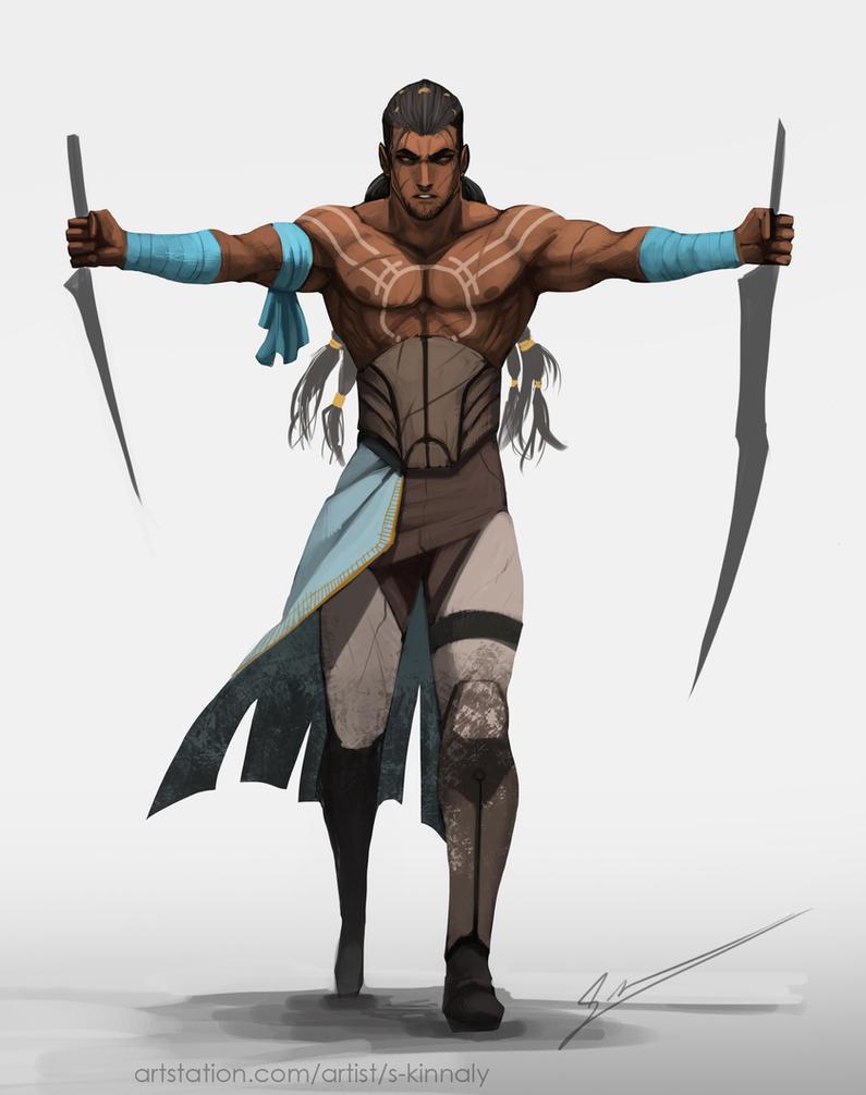 Warrior Slave by S-Kinnaly
