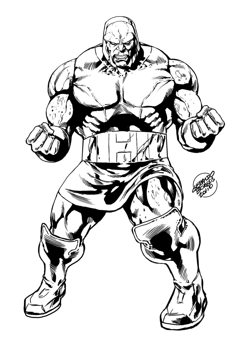 dc coloring pages - darkseid by geraldohsborges on deviantart