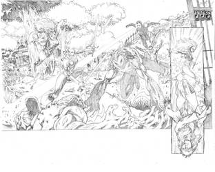 Ravagers#7 pages 02-03 by geraldohsborges