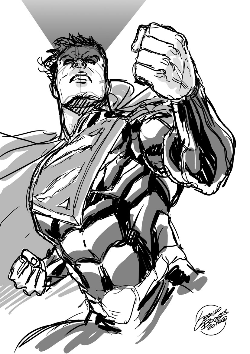 batman vs superman injustice coloring pages | Injustice - Superman sketch by geraldohsborges on DeviantArt