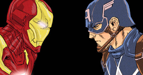 Civil War!! by geraldohsborges