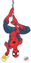 Spider-man Civil War version by geraldohsborges