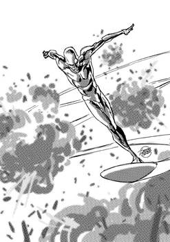 Silver Surfer once more