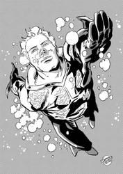 Warming up: Aquaman Rebirth!