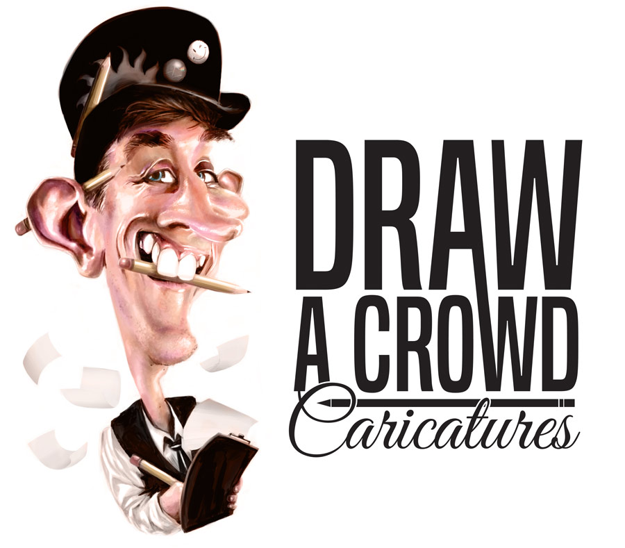 Digital caricature illustration of myself by drawacrowdau