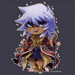 CHIBI | Thief Bakura by ChiineArtist