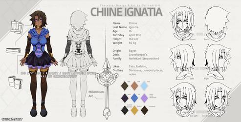 Chiine Ignatia (Battle City) - Character Sheet