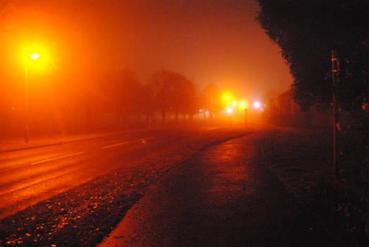 Road desolate