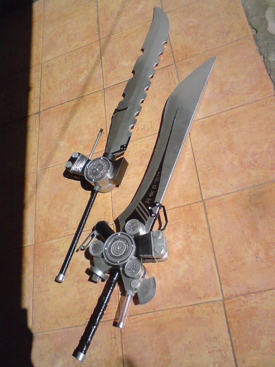 FF XIII noctis weapon by 13coz