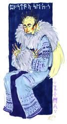 HOBBIT: Thranduil- four seasons: winter by Rocker-foxie
