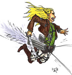 Crossover: attack on mirkwood by Rocker-foxie