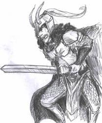 Siimarillion - Fingolfin by Rocker-foxie