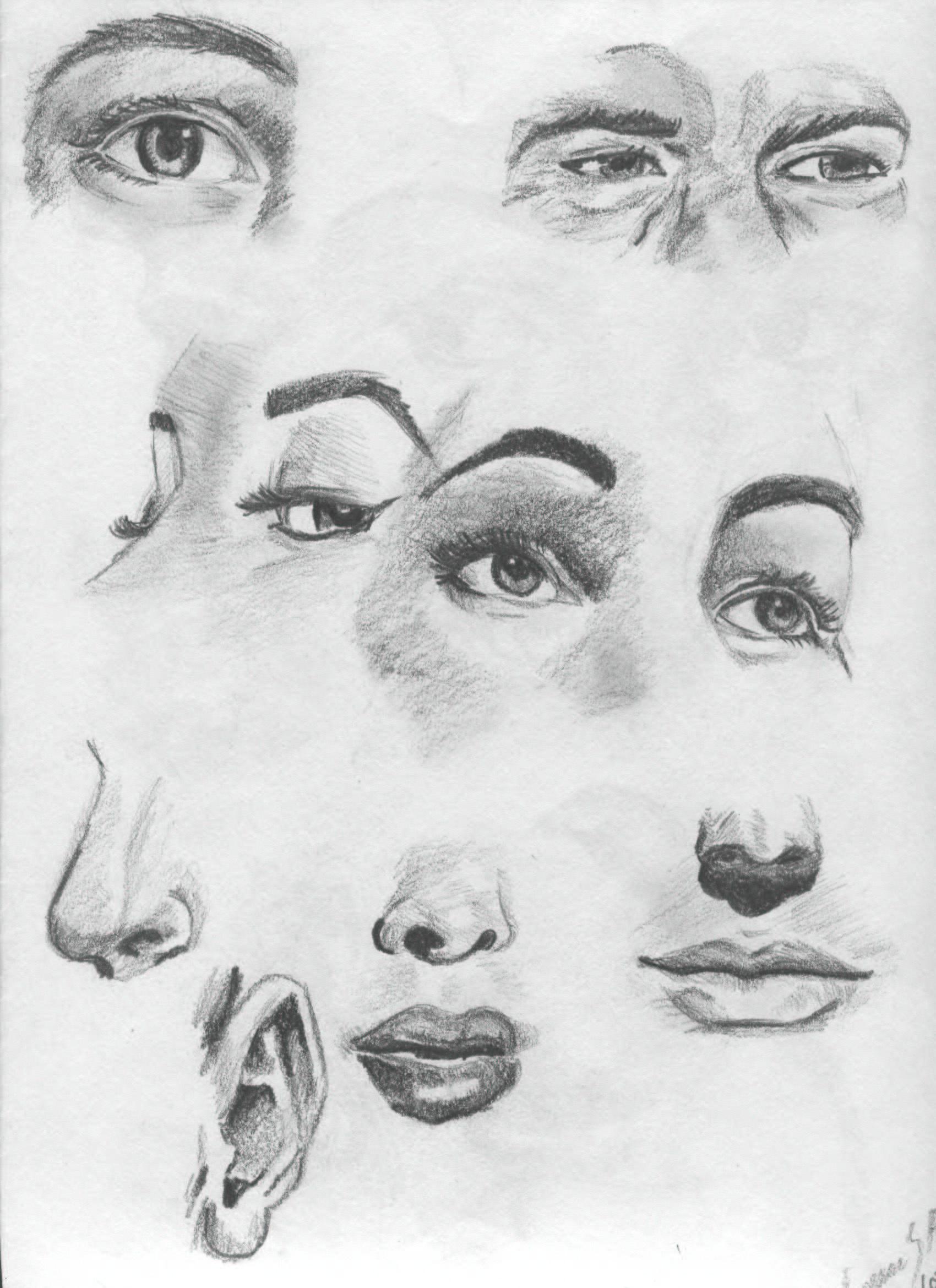 Art Facial Expressions 104