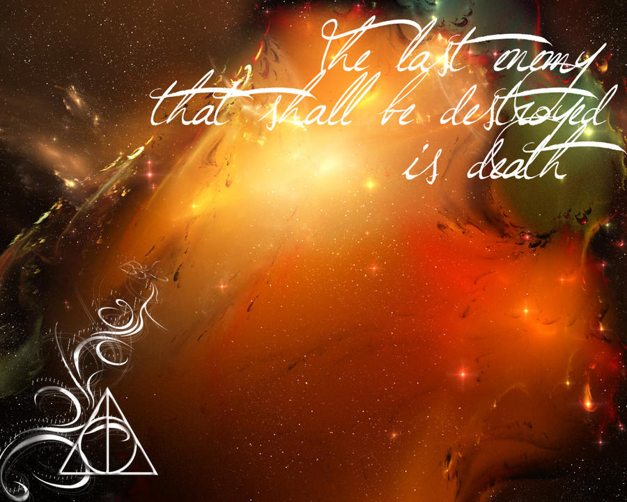 deathly hallows wallpaper by malublack on deviantart