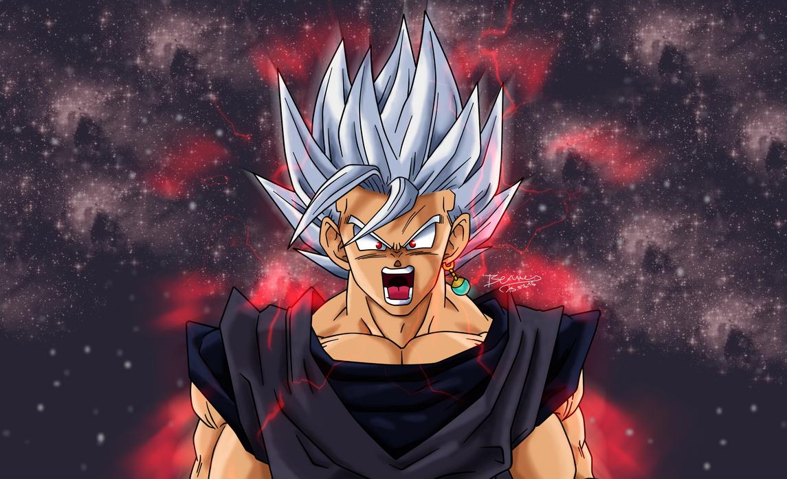 Goku Black Super Saiyan 2 v2 by rmehedi on DeviantArt  |Black Goku Super Saiyan