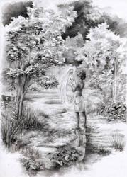Elder path by MinkuLul