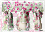 Silk scarf Poppies - For sale