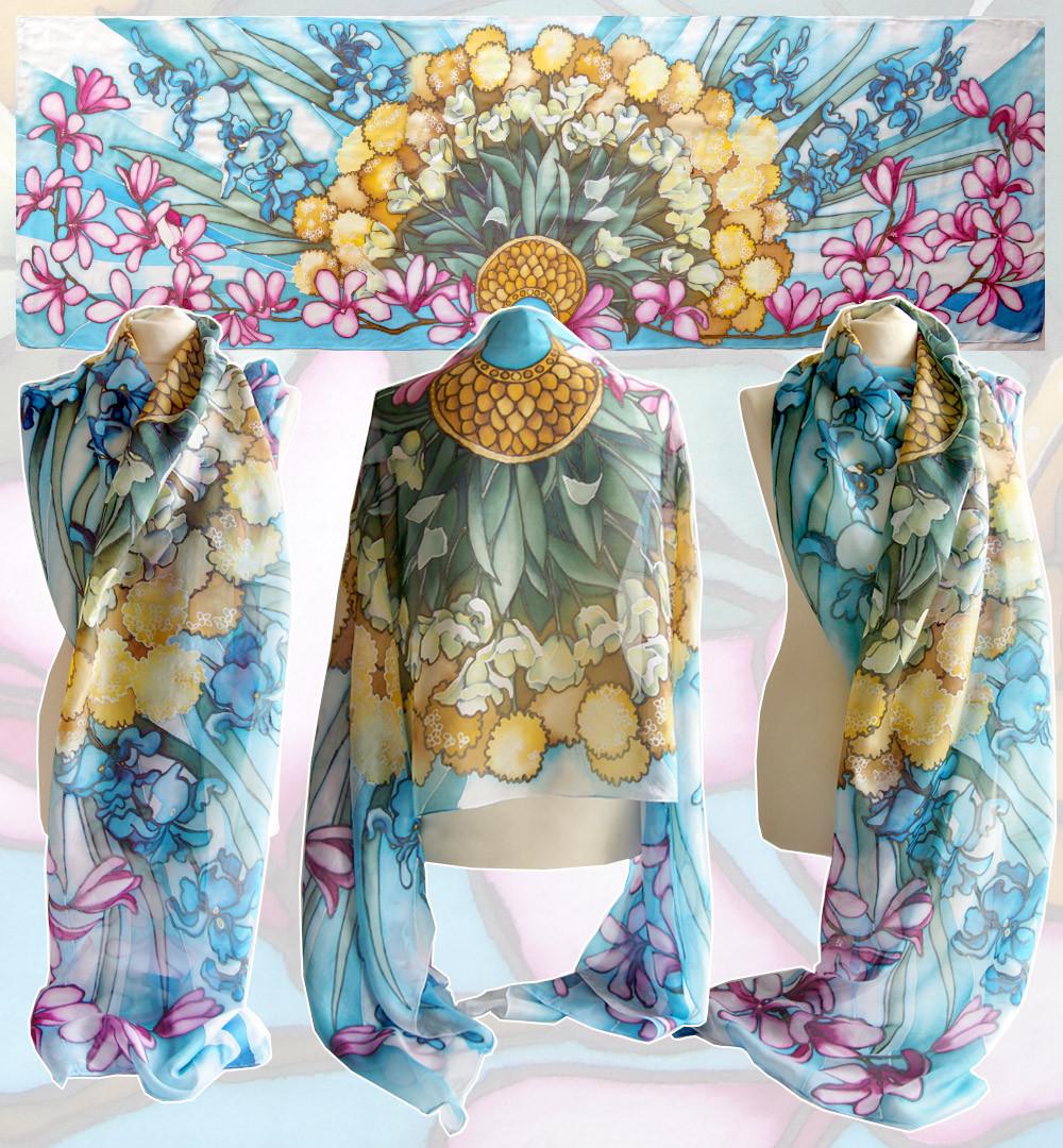 silk scarves for sale